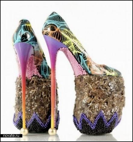 Туфли из слоновьего навоза