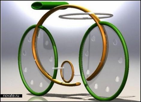 Круглый и экологически чистый концепт Ellipsis Bike