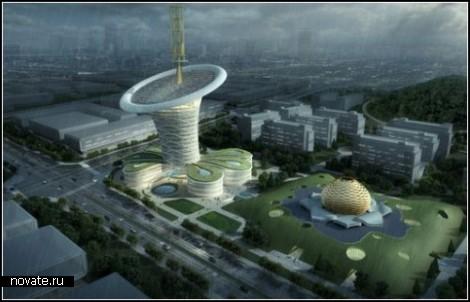 Китайский экопроект Energy Flower