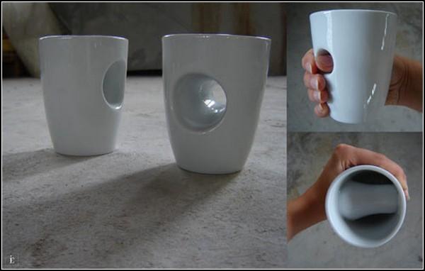 Необычные чашки для эспрессо и чая