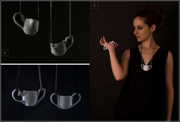 Кофе-чайные украшения от Эстер Имре (Eszter Imre)