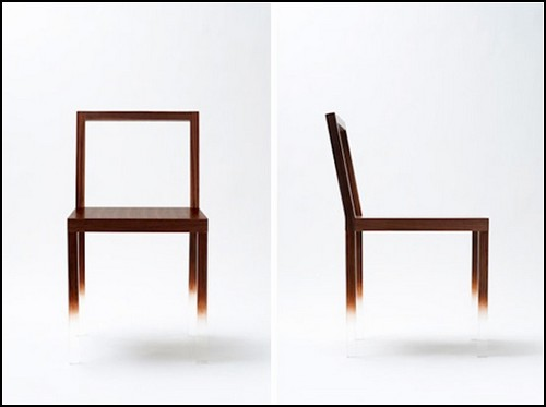 Стул-призрак Fade-out chair