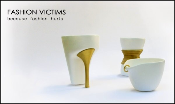 Fashion Victim Mugs, коллекция модных кружек