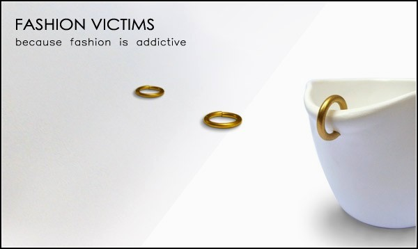 Fashion Victim Mugs, кружки-модницы от Яэля Кристала (Yael Kristal)