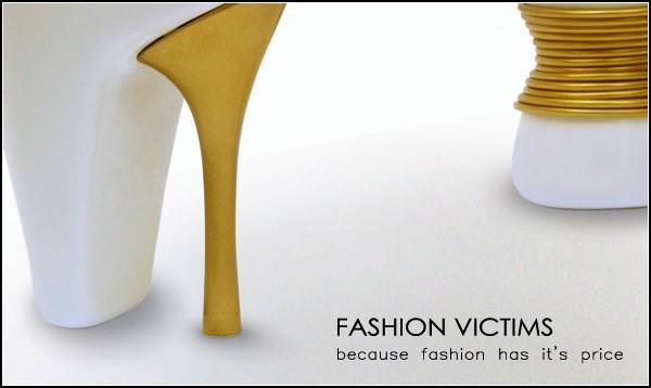 Фарфоровые *жертвы моды*