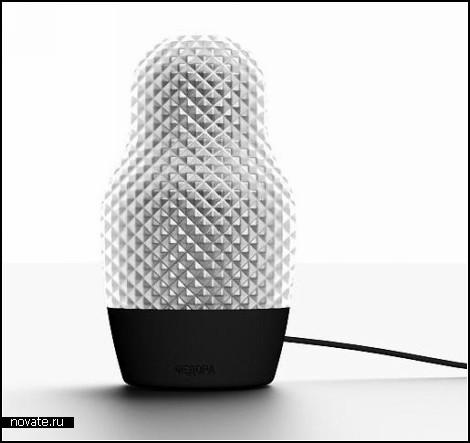 Ночник-матрешка Fedora lamp