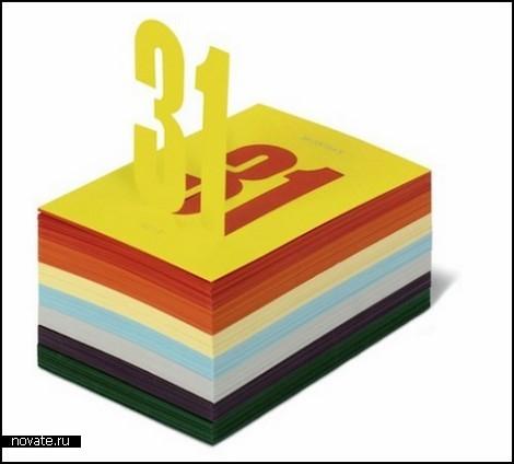 Календарь-новинка Fedrigoni 2010 от дизайн-студии Studio8