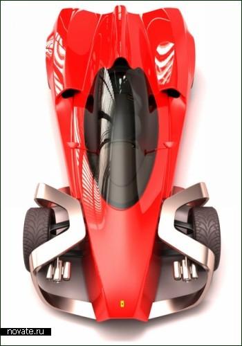 Агрессивный болид Ferrari Zobin
