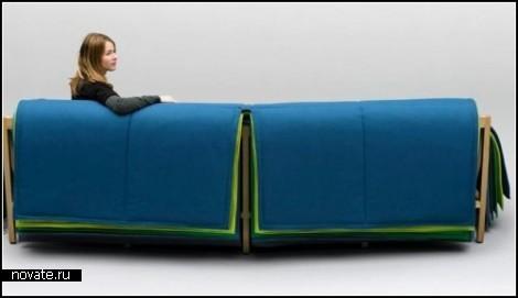 Цветная философия дивана Filo sofa