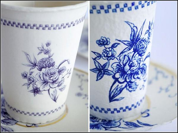 Finest paperware, одноразовая посуда, которая выглядит, будто из керамики