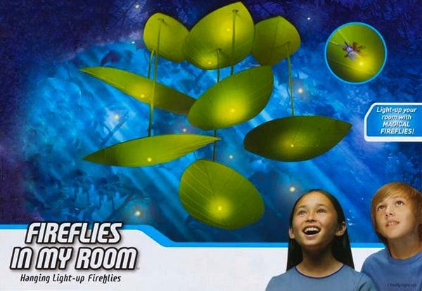Светильник со светлячками Fireflies in my room