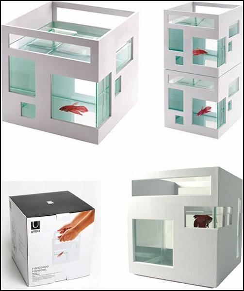 Fish Hotel. Отель-небоскреб для рыбок