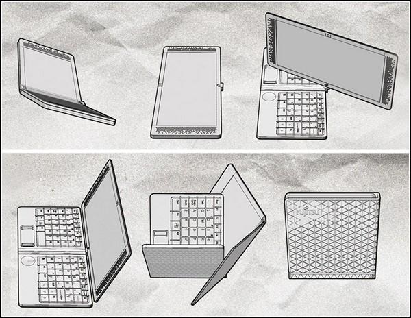 Компактный ноутбук-трансформер Flexbook
