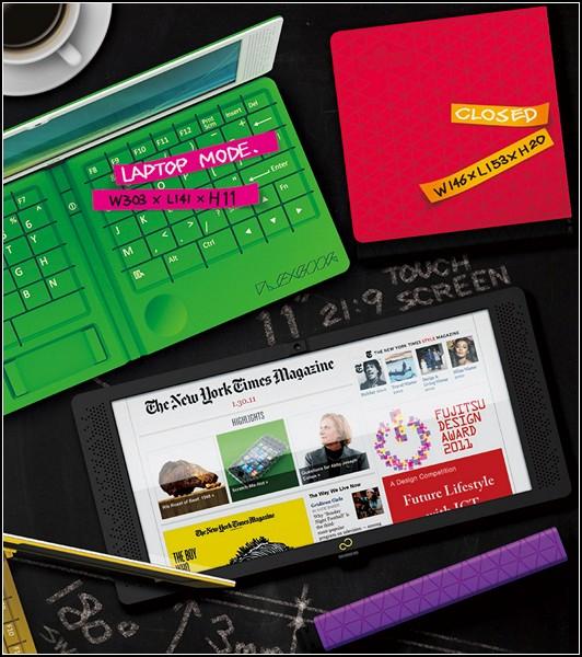 Многоликий планшет-трансформер Flexbook
