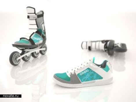 Ботинки без роликов, ролики без ботинок. Концепт Flow от Pierre Schwenke