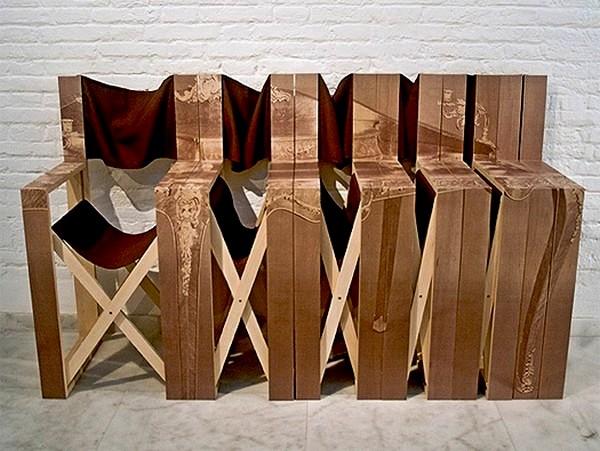 Com-oda Folding Chairs, складные стулья-комод от Mr. Simon