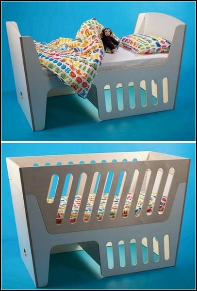 И кресло-качалка, и колыбелька, и кроватка для ребенка. Rocky от Jall & Tofta