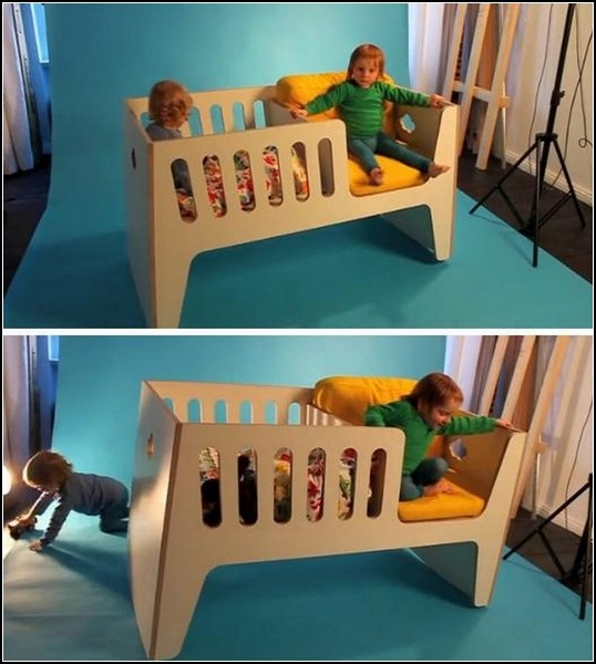 Кроватка-перевертыш Rocky от Jall & Tofta
