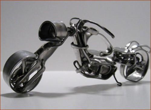Мотоцикл на вилочном ходу