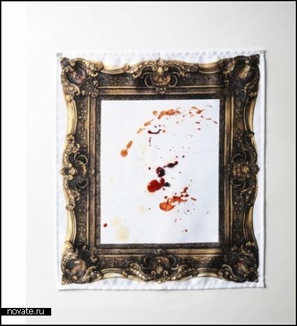 Салфетки-рамочки Frame napkin