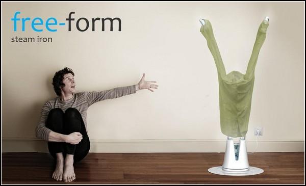 Free-Form Iron, концептуальный утюг нового поколения