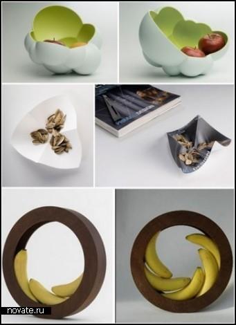 Обзор, как многие думают, необыкновенных тарелок для фруктов