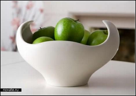 Обзор необычных тарелок для фруктов