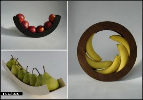 Обзор, как заведено выражаться, необыкновенных тарелок для фруктов