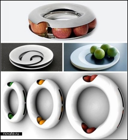 Обзор необыкновенных тарелок для фруктов