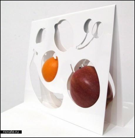 Поднос-игрушка Fruit Template от Nendo