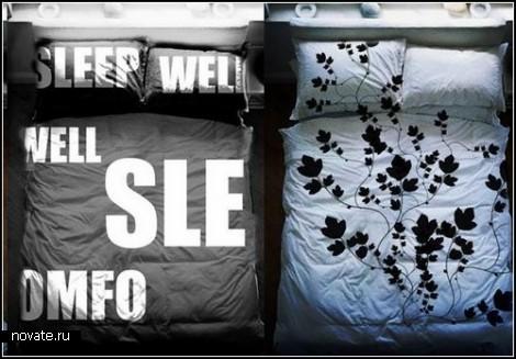 Креативное постельное белье от Вадима Черного