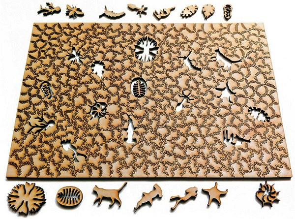 Необычные паззлы от дизайн-студии Nervous System
