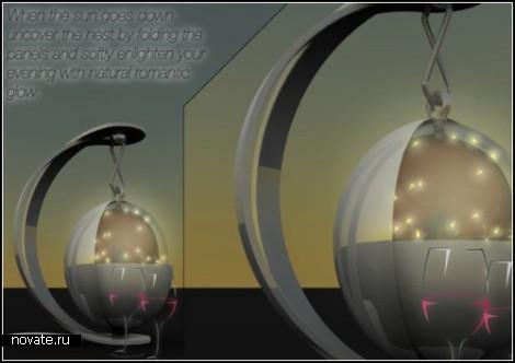 Lamp of Fireflies, или светлячковый светильник от Tommaso Gecchelin