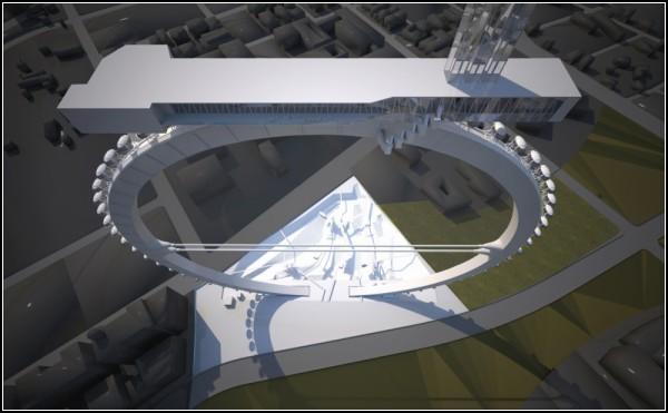 Архитектурное *колесо обозрения* от GilBartolome ADW