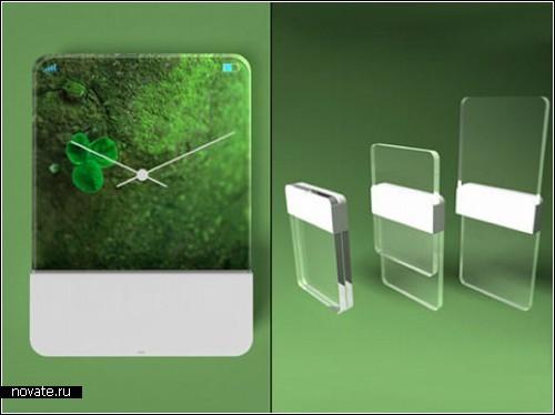 Прозрачный призрачный концептфон