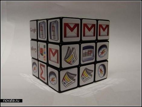 Google Rubik's Cube. Креативная реклама Google