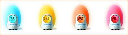 Определять температуру можно по цвету