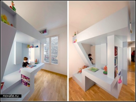 Eva's Bed. Проект кровати-*крепости* для ребенка