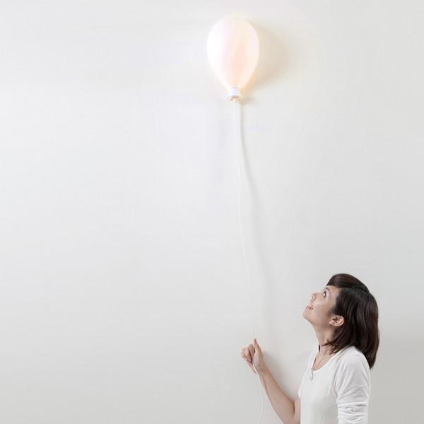 Balloon X LAMP, воздушный шарик, который светится
