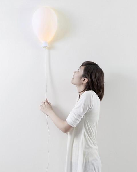 Balloon X LAMP, светильник в виде воздушного шарика