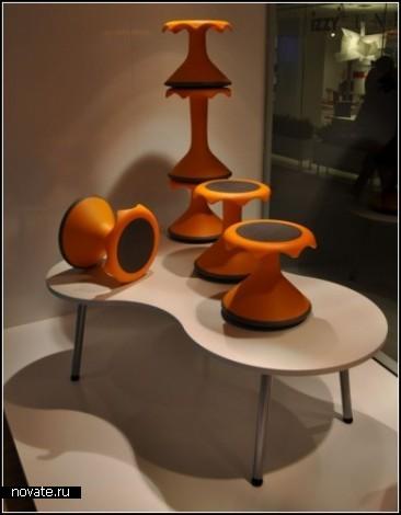 Hokki stool. Сидения для любителей раскачиваться на стуле