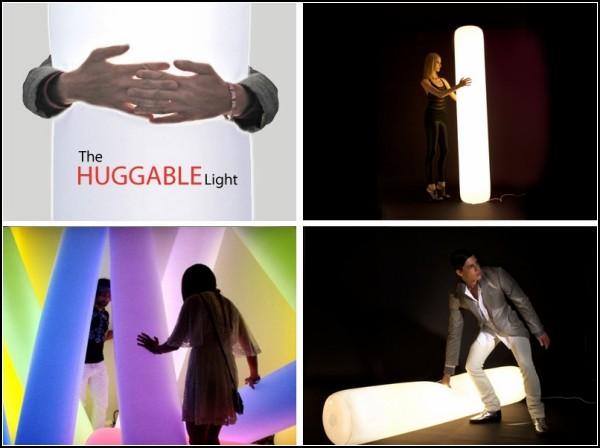 Светильник Huggable Lamps для всяческих обнимашек