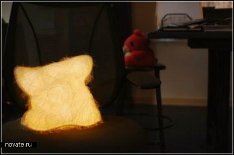 Подушка Huggable pillow - светлячок под бочок