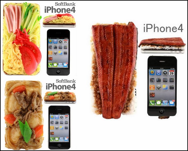 Чехлы для iPhone в виде японской еды