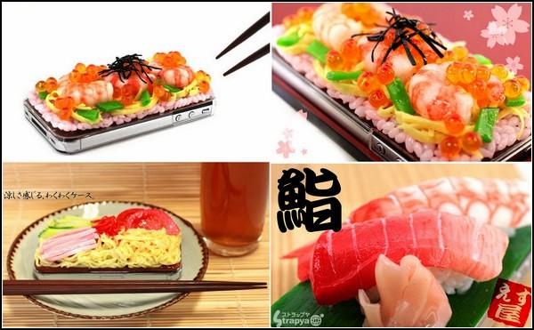 Чехлы iMeshi для любителей суши