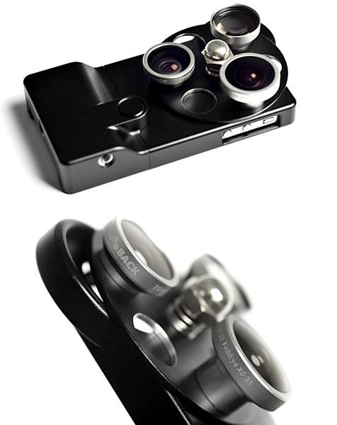 Lens Dial Case, чехол с набором линз для творческой фотосъемки на iPhone