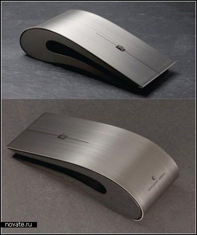 ID Mouse - универсальная мышка из высококачественного титана