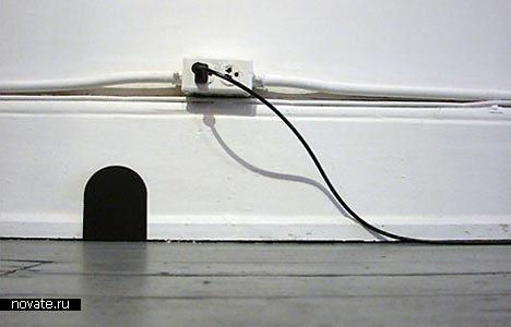 Норка, в которой не живет ни одна мышь. Шуточный девайс от Марка Ригельмана