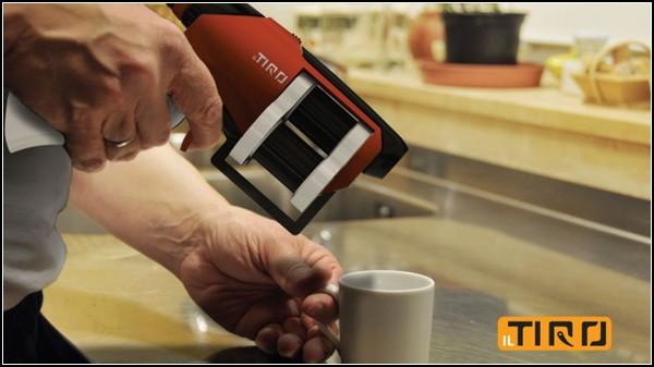 Кофе из пистолета-кофеварки il Tiro