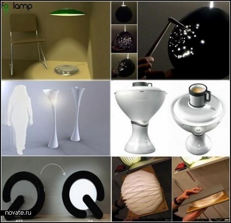 Очередной обзор диковинных светильников